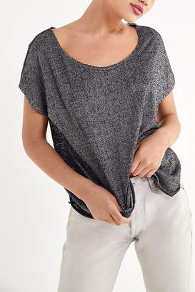 Project Social T Textured Off-The-Shoulder Tee
