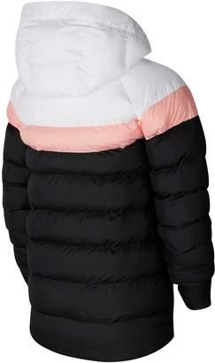 Nike Sportswear Kids Filled Jacket - Black/White