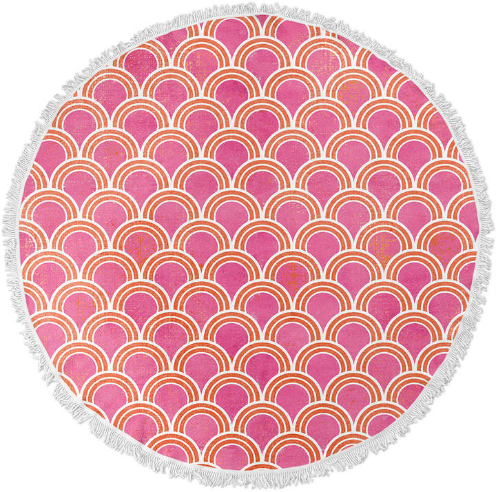 Kavka Designs Loops Round Beach Towel