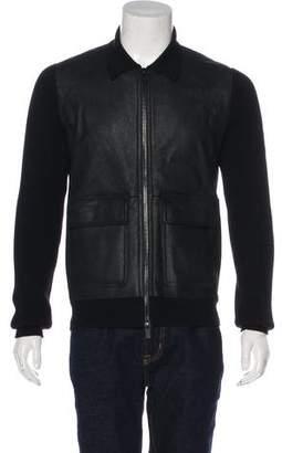 Hermes Lambskin & Wool Jacket w/ Tags
