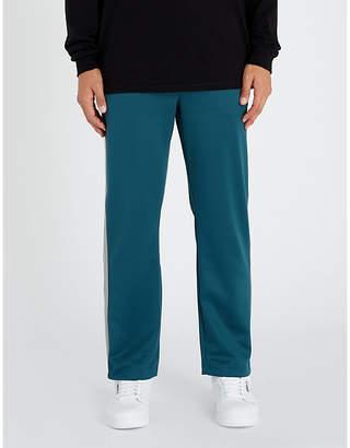 Stussy Side-striped jersey jogging bottoms