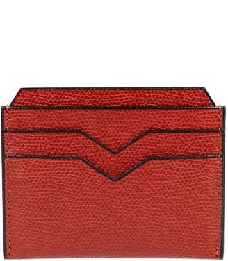 Valextra Textured Card Holder