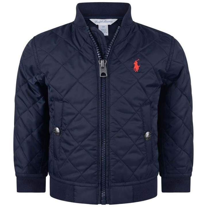 Ralph LaurenBaby Boys Navy Quilted Jacket