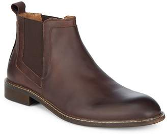 Kenneth Cole Men's Round Toe Leather Chelsea Boots