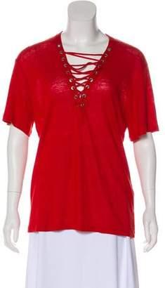 IRO Imis Linen T-Shirt