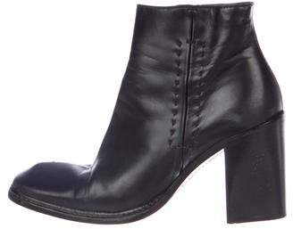 CNC Costume National Square-Toe Ankle Boots