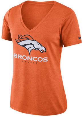 Nike Women's Denver Broncos Dri-fit Touch T-Shirt