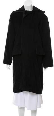 Jean Paul Gaultier Angora Knee-Length Coat