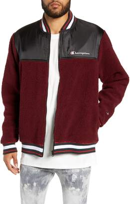 Champion Fleece Baseball Jacket