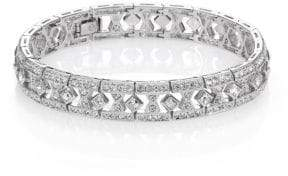 Adriana Orsini Art Deco Pave Bracelet