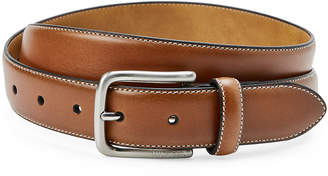 Tommy Hilfiger Stitched Logo Emblem Belt
