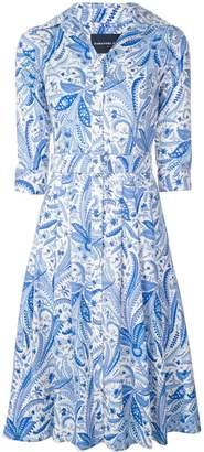 Samantha Sung Audrey paisley dress