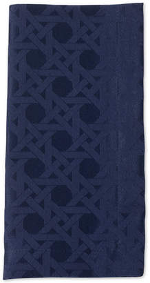 """Kate Spade Cafe Caning 20"""" x 20"""" French Navy Napkin"""