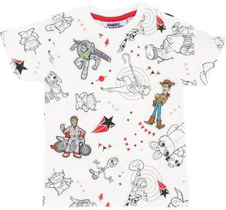 story. Fabric Flavours TOY PRINT COTTON JERSEY T-SHIRT