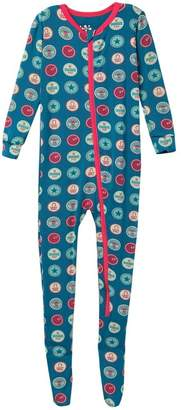 Kickee Pants Printed Zip Footie (Baby, Toddler, & Little Kids)
