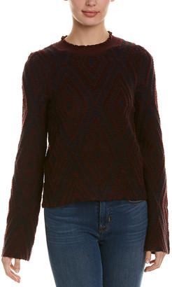 See by Chloe Printed Wool Sweater