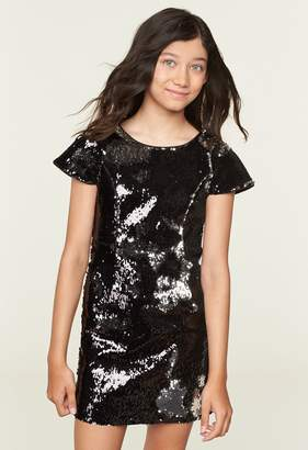 Milly Minis MillyMilly Sequin Joana Cap Sleeve Dress
