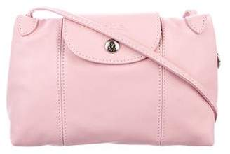 Longchamp Le Pliage Cuir Mini Crossbody Bag c4a4ab7d9d889
