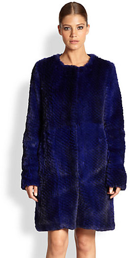 Diane von Furstenberg Candice Fur Coat