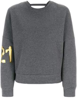 No.21 ロゴプリント スウェットシャツ