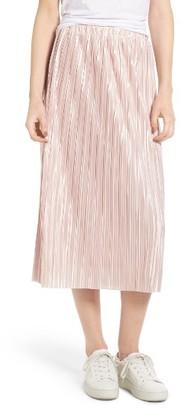 Women's Chelsea28 Plisse Pleat Skirt $69 thestylecure.com