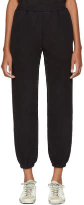 Simon Miller Black Yuba Lounge Pants