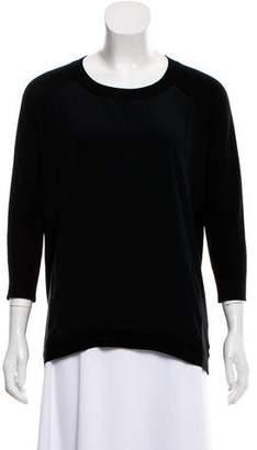 Magaschoni Silk-Cashmere Blend Sweater