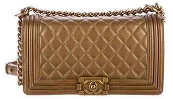 ChanelChanel Medium Quilted Boy Bag