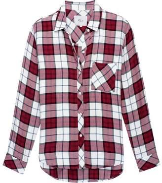 Rails Hunter Scarlet/White/Sky Long-Sleeve Button Up - Women's