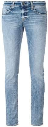 Rag & Bone Jean acid wash skinny jeans