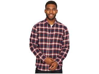 Vans Beachwood Long Sleeve Woven Top Men's Long Sleeve Button Up