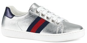 Toddler Gucci 'Ace' Sneaker $265 thestylecure.com