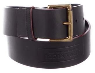 Nina Ricci Leather Buckle Belt