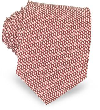 Forzieri Bicolor Woven Silk Tie