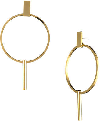 Trina Turk GOLDEN STATE HOOP DROP EARRING