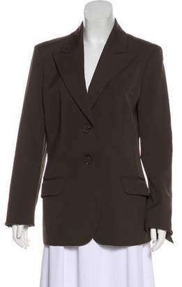 Michael Kors Virgin Wool Single-Breasted Blazer
