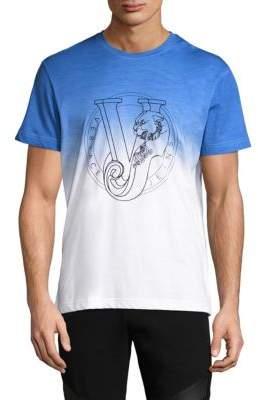 Versace Ombre Logo T-Shirt