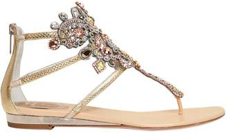 Rene Caovilla 10mm Swarovski & Karung Sandals