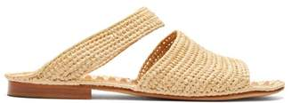 Carrie Forbes Ahmed Raffia Sandals - Womens - Cream