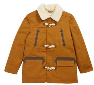 J.Crew crewcuts by Faux Shearling Lined Toggle Coat