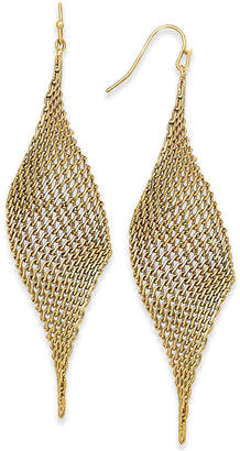 INC International Concepts I.n.c. Mesh Drop Earrings