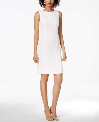 Kasper Jacquard Sheath Dress