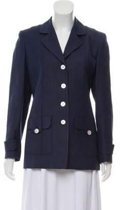 Burberry Vintage Structured Blazer Blue Vintage Structured Blazer
