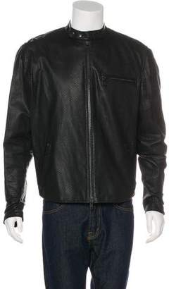 Y-3 Perforated Café Racer Jacket