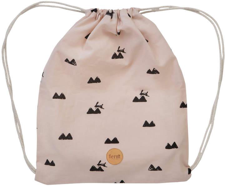 Rabbit Print Gym Bag