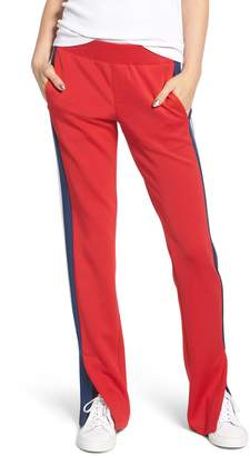 Pam & Gela Stripe Scuba Knit Track Pants