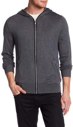 The Kooples Attached Hood Silk Blend Sweater $355 thestylecure.com