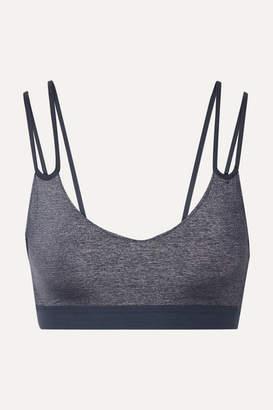 Nike Indy Metallic Dri-fit Stretch Sports Bra - Dark gray