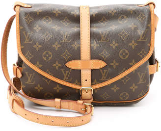 Louis Vuitton What Goes Around Comes Around Monogram Saumur 30 Bag (Previously Owned)