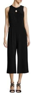 Gabby Skye Ruched Keyhole Jumpsuit